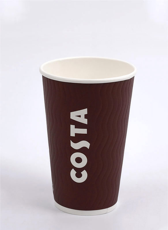 12oz Embossed Cup
