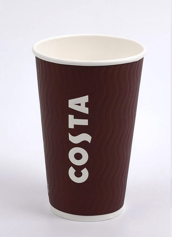 16oz Embossed Cup