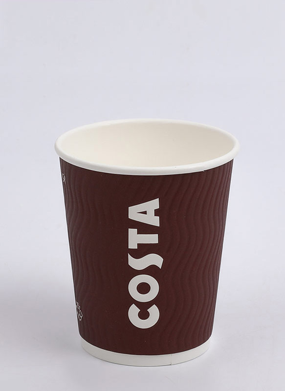 8oz Embossed Cup